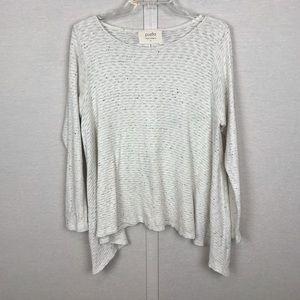 ANTHROPOLOGIE | PUELLA Ivory Marled Sweater/Tunic